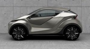 2015 Lexus LF-SA Concept Explores Mini Crossover Coupe of the Future 2015 Lexus LF-SA Concept Explores Mini Crossover Coupe of the Future