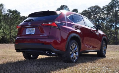 2015 Lexus NX200t F Sport Review 109