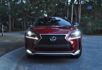 2015 Lexus NX200t F Sport Review 140