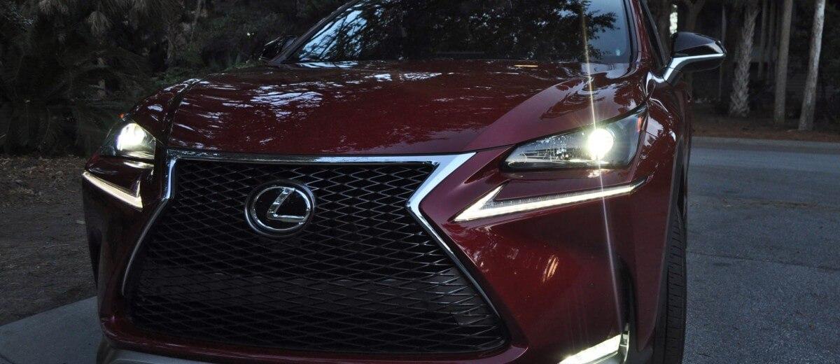 2015 Lexus NX200t F Sport Review 141