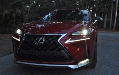 2015 Lexus NX200t F Sport Review 141