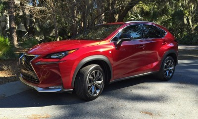 2015 Lexus NX200t F Sport Review 146