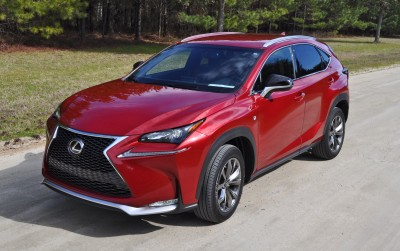 2015 Lexus NX200t F Sport Review 16