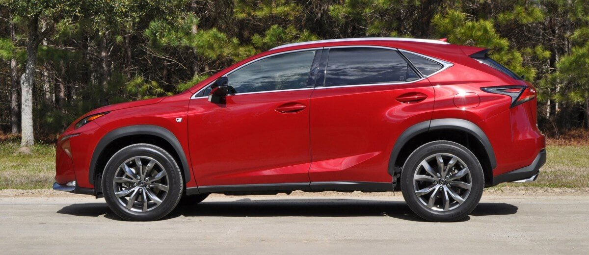 2015 Lexus NX200t F Sport Review