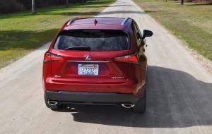 2015 Lexus NX200t F Sport Review 36