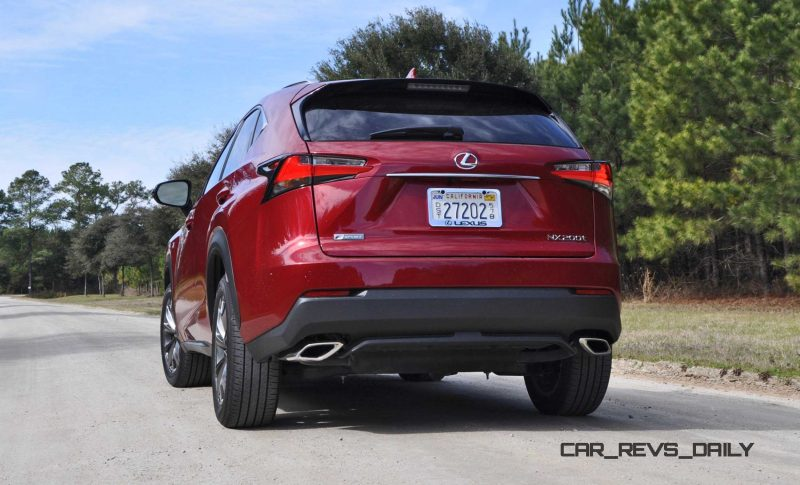 2015 Lexus NX200t F Sport Review 46