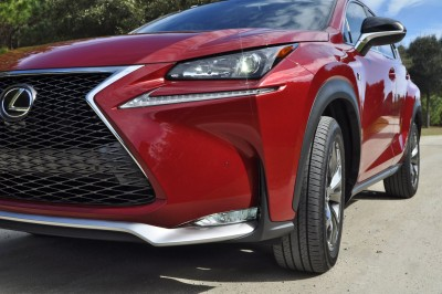 2015 Lexus NX200t F Sport Review 55