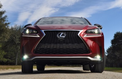 2015 Lexus NX200t F Sport Review 66