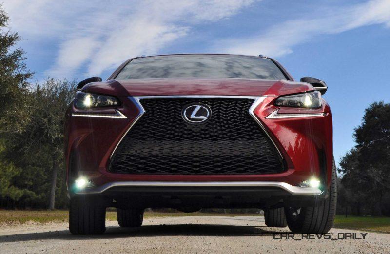 2015 Lexus NX200t F Sport Review 66