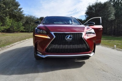 2015 Lexus NX200t F Sport Review 72