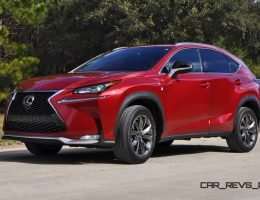 Road Test Review – 2015 Lexus NX200t F Sport Is Best New Crossover