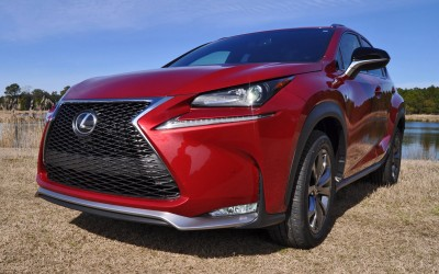 2015 Lexus NX200t F Sport Review 91