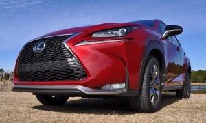 2015 Lexus NX200t F Sport Review 94