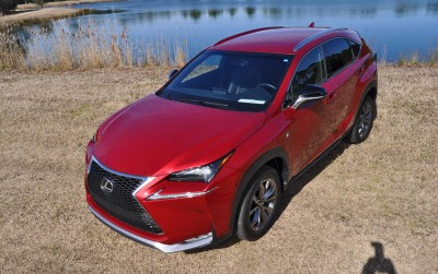 2015 Lexus NX200t F Sport Review 95