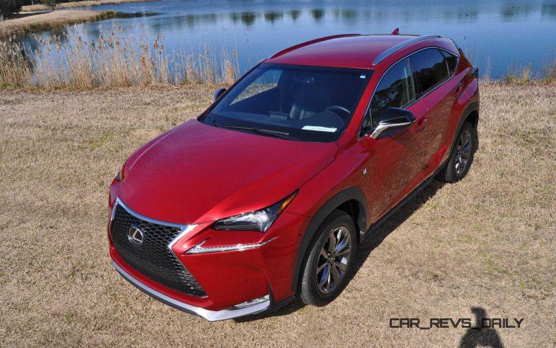 2015 Lexus NX200t F Sport Review 95
