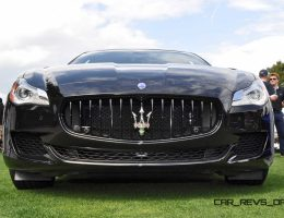 2015 Maserati Quattroporte GTS Wows Amelia Island With Gloss-Black Detailing