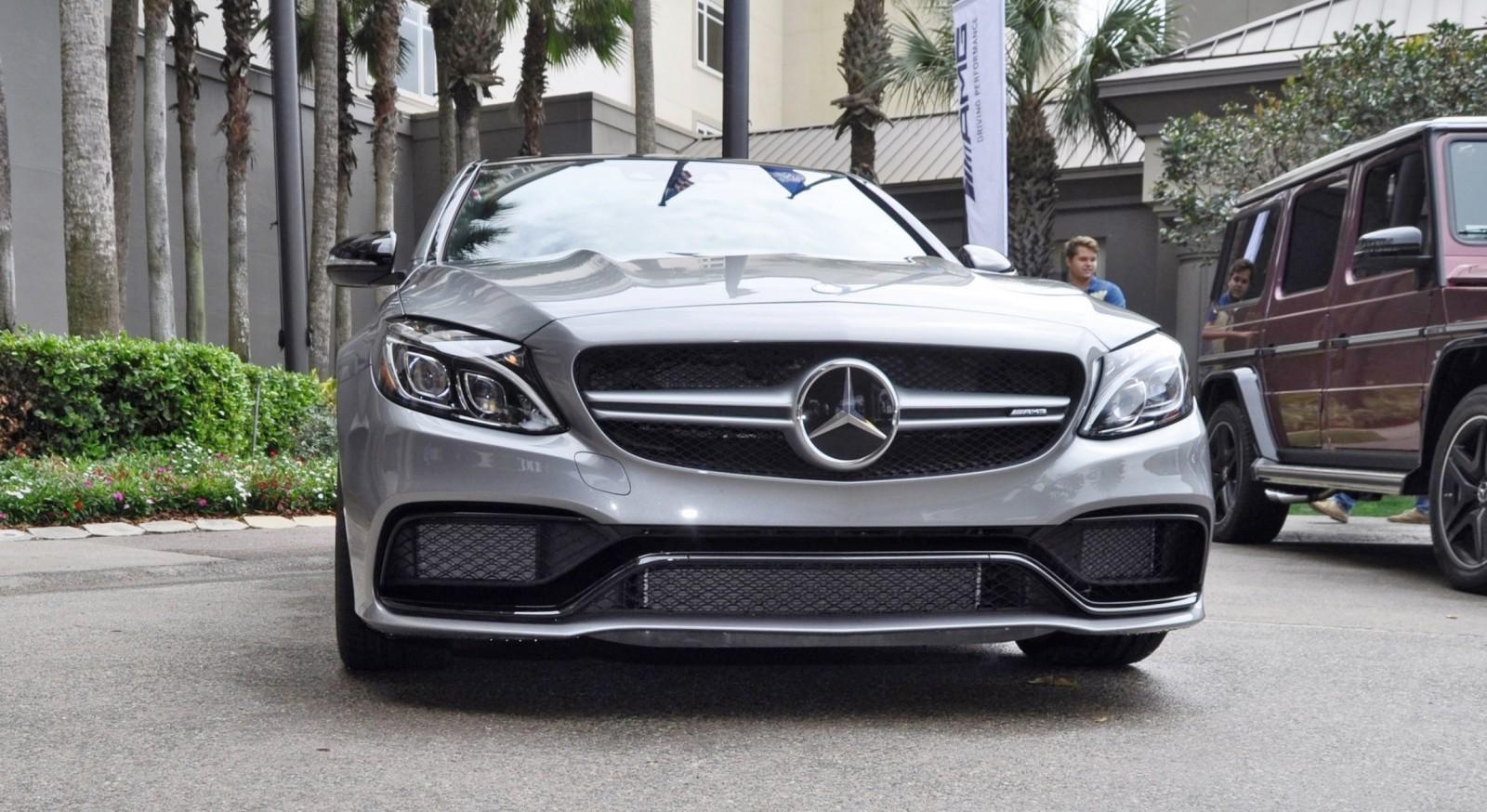 2015 Mercedes-AMG C63-S  2015 Mercedes-A...