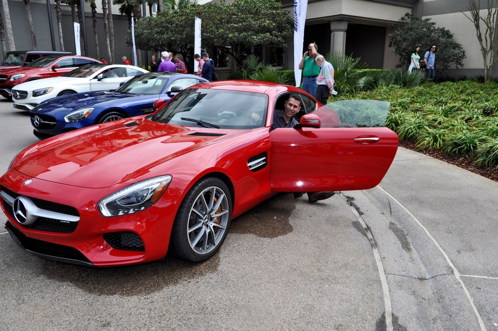 amelia island 2015 mercedes amg gt s duo in 150 all new photos. Black Bedroom Furniture Sets. Home Design Ideas