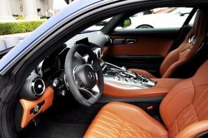 2015 Mercedes-AMG GT-S Red Blue Amelia Island 127
