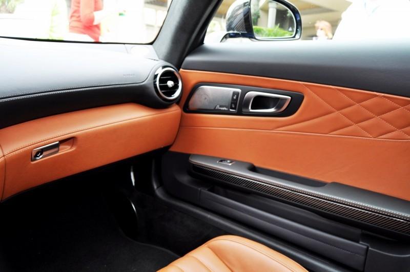 2015 Mercedes-AMG GT-S Red Blue Amelia Island 140