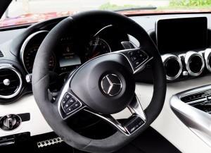 2015 Mercedes-AMG GT-S Red Blue Amelia Island 63