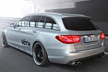 2015 Mercedes-Benz C-Class Estate by VAETH Adds 100% More Sound and Style