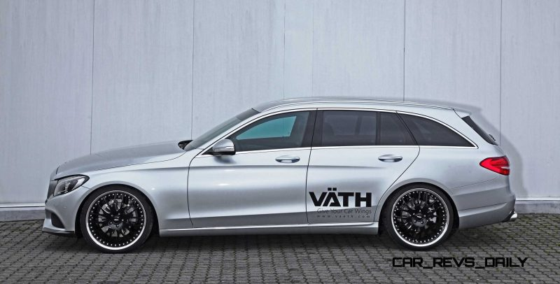 2015 Mercedes-Benz C-Class Estate by VAETH 16