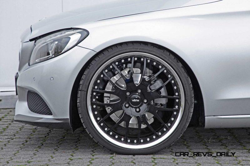 2015 Mercedes-Benz C-Class Estate by VAETH 17
