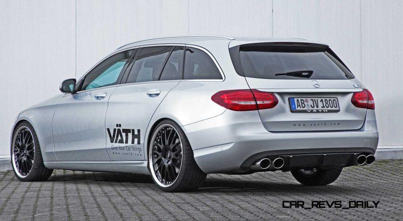 2015 Mercedes-Benz C-Class Estate by VAETH 3