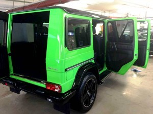2015 Mercedes-Benz G63 AMG Crazy Colors Edition 1