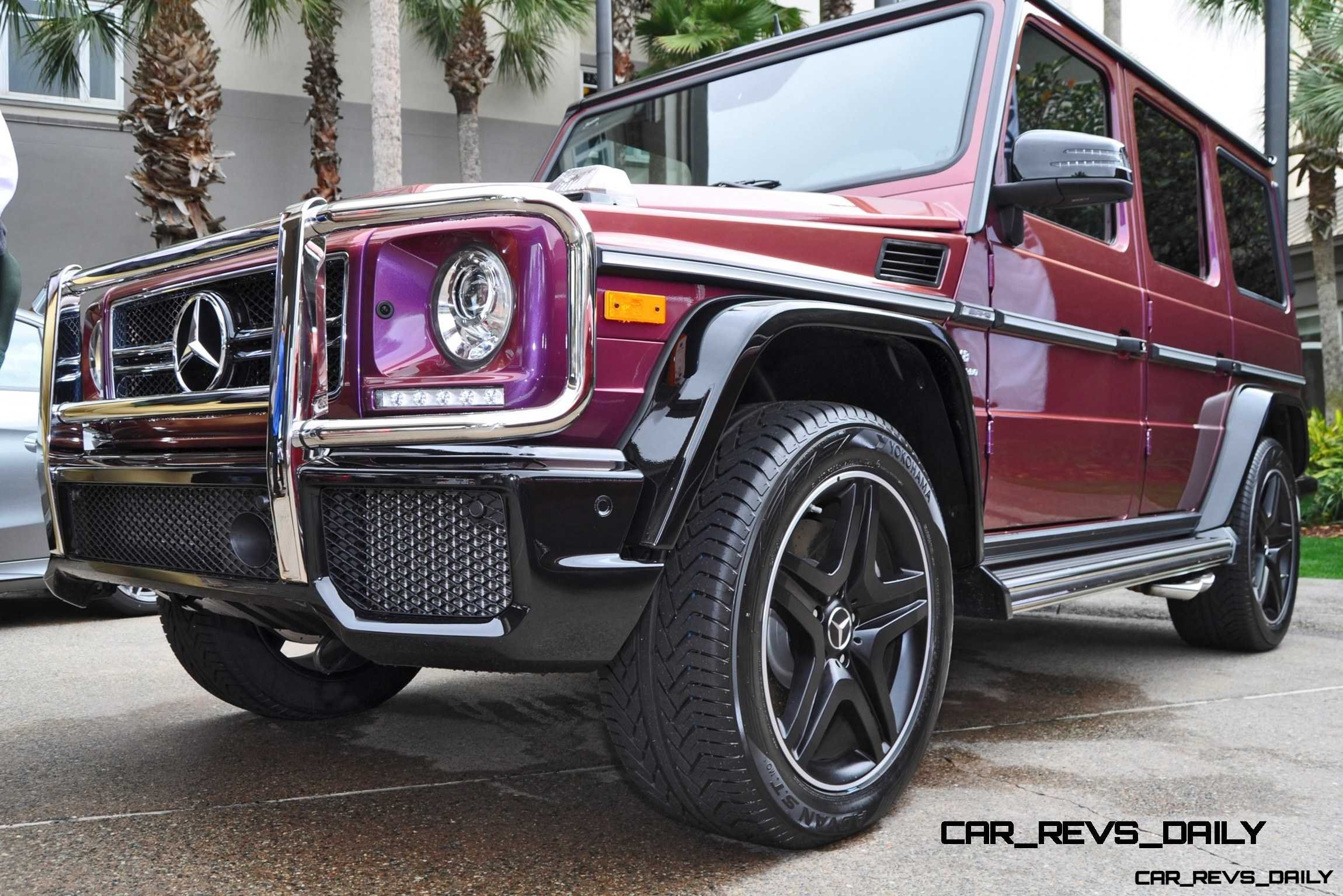 2015 mercedes benz g63 amg crazy colors edition for Mercedes benz g 63