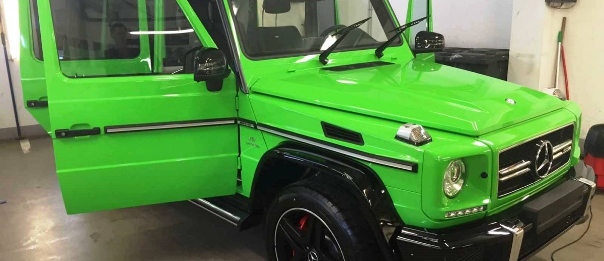 2015 Mercedes-Benz G63 AMG Crazy Colors Edition 2