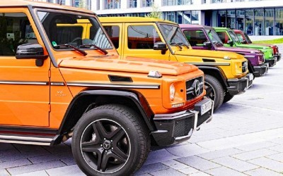 2015 Mercedes-Benz G63 AMG Crazy Colors Edition 3