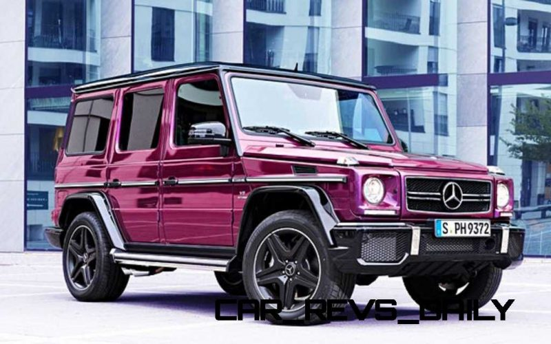 2015 Mercedes-Benz G63 AMG Crazy Colors Edition 5
