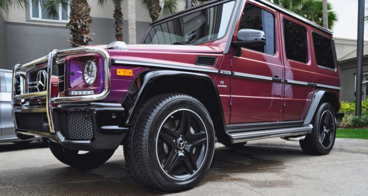 2015 Mercedes-Benz G63 AMG Crazy Colors Edition