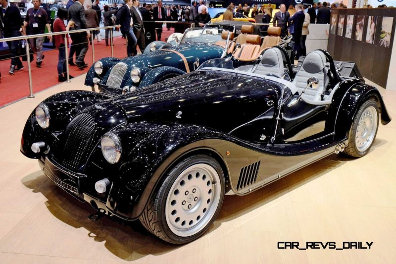 2015 Morgan Plus 8 SPEEDSTER Headlines Geneva Show Stand 1