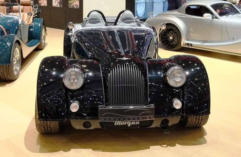 2015 Morgan Plus 8 SPEEDSTER Headlines Geneva Show Stand 10