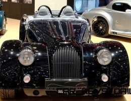 2015 Morgan Plus 8 SPEEDSTER Headlines Geneva Show Stand
