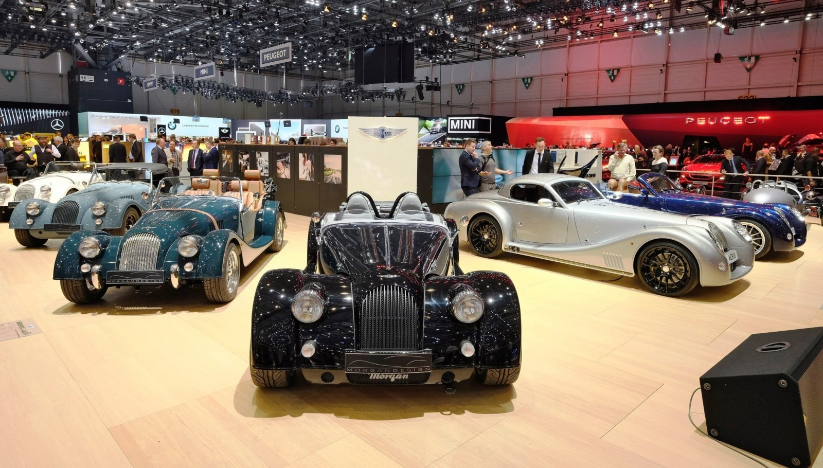 2015 Morgan Plus 8 SPEEDSTER Headlines Geneva Show Stand 11