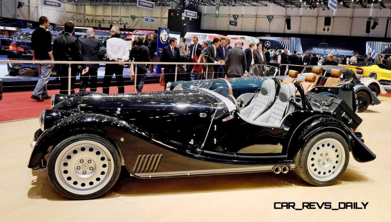 2015 Morgan Plus 8 SPEEDSTER Headlines Geneva Show Stand 3