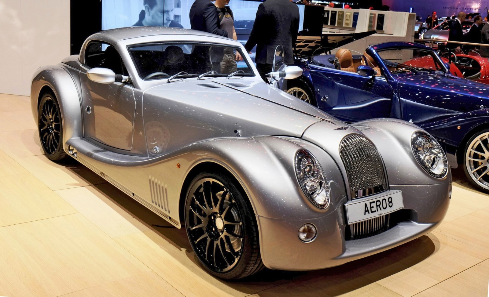 2015 Morgan Plus 8 SPEEDSTER Headlines Geneva Show Stand 4