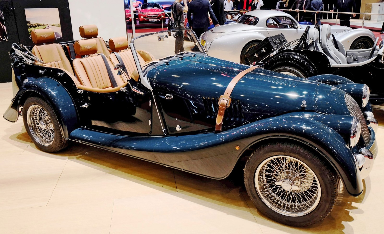 2015 Morgan Plus 8 SPEEDSTER Headlines Geneva Show Stand 7
