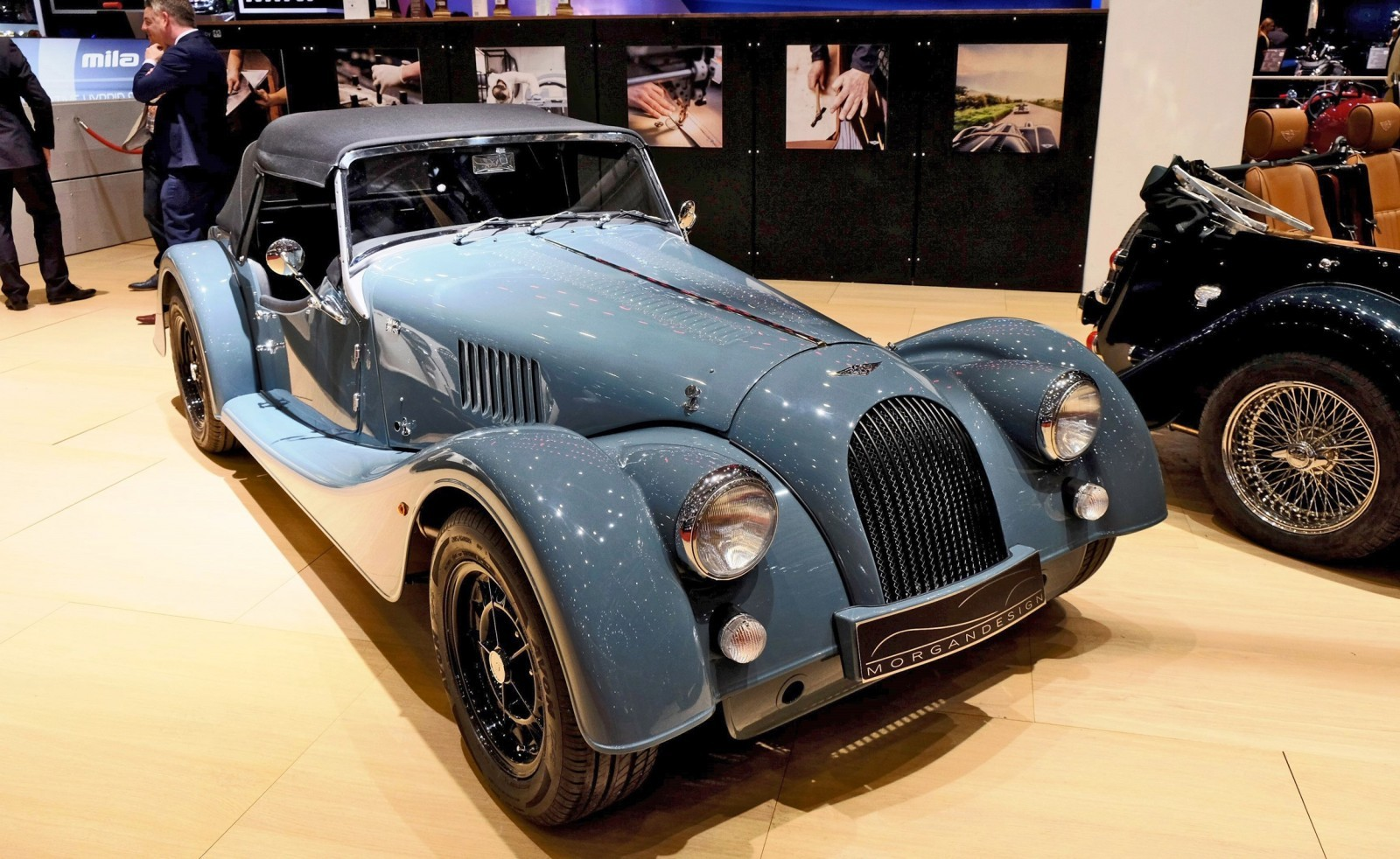 2015 Morgan Plus 8 SPEEDSTER Headlines Geneva Show Stand 8