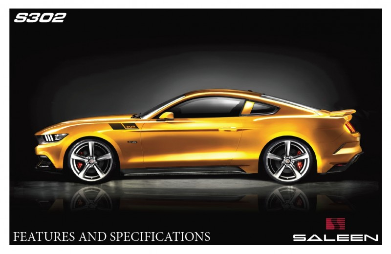 2015 Mustang S302 By SALEEN 7