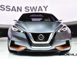 2015 Nissan SWAY Concept Shows Future Golf and Focus-Fighter