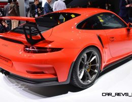 2015 Porsche 911 GT3 RS Makes Geneva Debut With 500HP + Wild Track Upgrades All Around