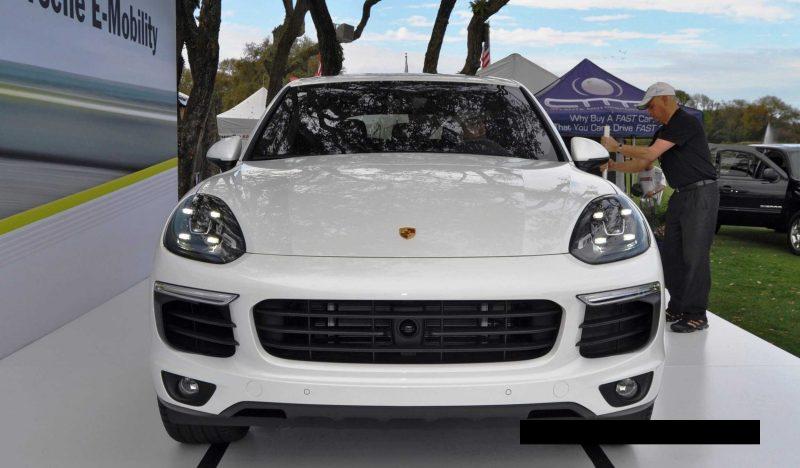 2015 Porsche Cayenne S E-Hybrid 80