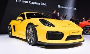 2015 Porsche Cayman GT4 11