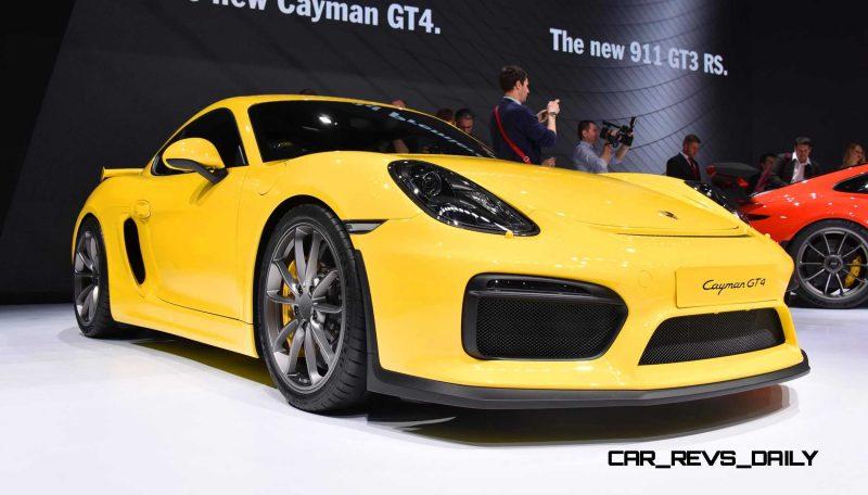 2015 Porsche Cayman GT4 12