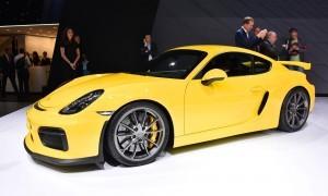 2015 Porsche Cayman GT4 2